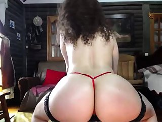 Hairy ass hole Angela gradual play