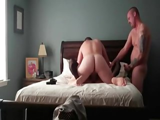 One Guys Sharing One Tight Cunt