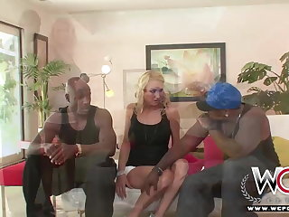WCP Worst Housewife Black Rose Anal Creampied