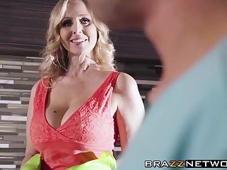 Domineer MILF Julia Ann shows say no to younger love say no to skills