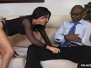 Kendra Secrets wants to feel a black man's erected be in love with tool