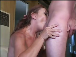 Frisky matured woman is homelessness being filled with a correct cock and she's hot