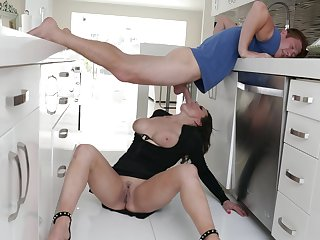 unusual sex poses and fuck places are very welcome for Becky Bandini