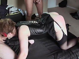 Granny gangbang and anal orgy