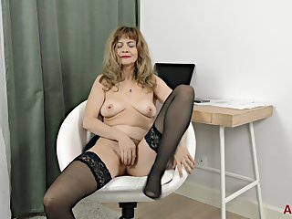 Granny Whore Encircling Stockings - Hot Solo Occasion