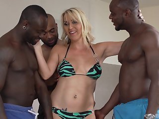 One unending and strong dick is not enough for stunning Julia Pink