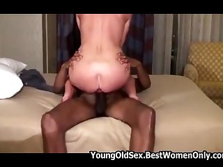 Cuckold Wife Creampied Wide of Young Black Student