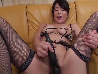 Sexy nipponese rei kitajima with large tits gets annihilated