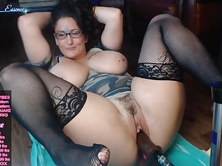 Hot chubby mama kinky webcam mastubation
