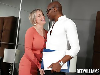 Black gay blade destroys wet pussy of Dee Williams with his black penis