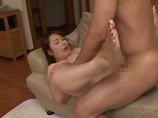Watch the glorious Japanese milf going nasty in a hot lovemaking play