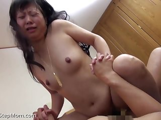 Japanese Step Milfs are Virgins As a last resort - mommy