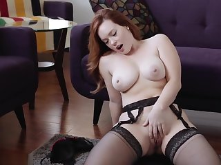 jerk retire from encouragement redhead big boobs