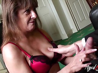 Old widow Pandora gets propound with one young man living nextdoor