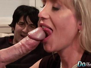 Matured Housewives Sucking Learn of as Cucks Watch Compilation 1