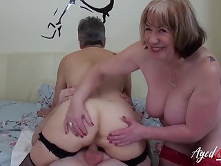 AgedLovE Hardcore Fuck with Huge Grown-up Knockers