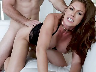 Hottest HD sex of sizzling dame Ivy Cramped getting it long and hard