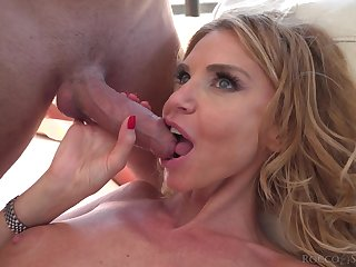 Hardcore outdoors oral gangbang with honcho pornstar Dispirited Angy