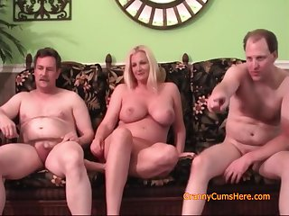 Granny And Her Friends Know How To Have An Orgy