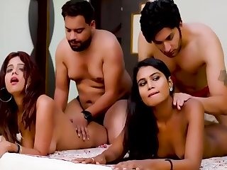 Desi Housewife Exchange And Having Swinger Sex Less Hindi