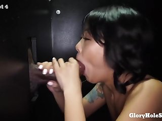 Callie Klein And Glory Hole - Asian Chick Third Porn Video