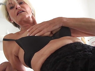Very old and unbelievable HOT German GILF grandma
