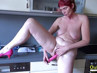OldNannY Mature and Friends Threesome Hardcore
